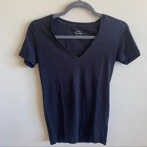 Jcrew Black Vintage Crew Tshirt XS